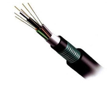 armored double sheathed loose tube cable
