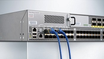 Cisco SFP plugged to the Cisco Nexus 9396 switch