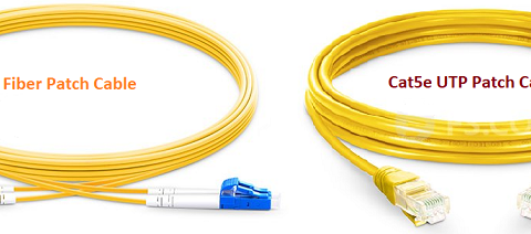 Single-mode-Fiber-Patch-Cable vs Copper UTP Cable