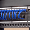 Figure 3: 1U cable manager with brush strip