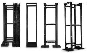 45U 4-Post Adjustable Open Frame Rack