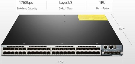 S5800-48F4S 48 Port Ethernet Switch