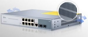 8-Port Gigabit PoE+ Managed Switch with 2 SFP
