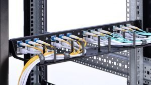 Patch Panel: used to connect and manage incoming and outgoing cables