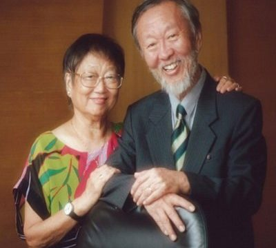 Dr. Kao and his wife