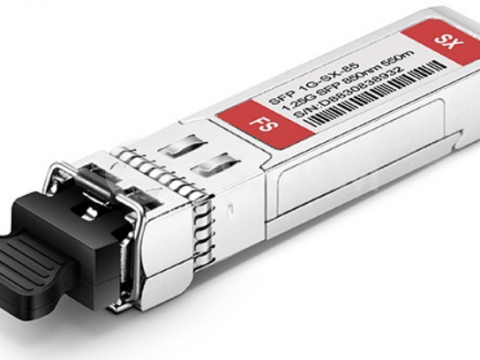 photo of 1000Base transceiver module