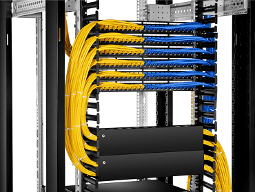 rack mount patch panel cable management cabinet