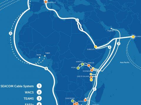 seacom fiber optic cable map
