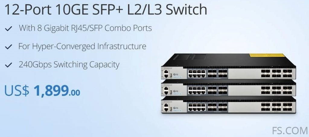 What is SFP+ Switch And How to Choose It for Home Use? 2