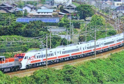 Train in Taiwan