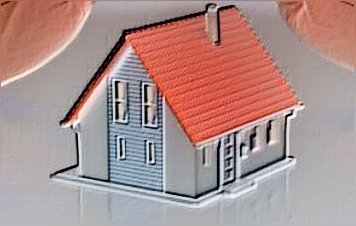Carricature of a house