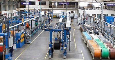 Manufacturing machines of optical fiber cables