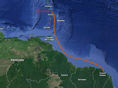 French Guiana to Martinique Kanawa Submarine cable system