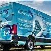 Hyperoptic installation team van