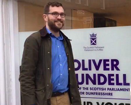 MSP Oliver Mundell of Dumfries, Scotland