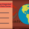 Image showing data center benefits and a globe