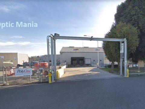 PolyOne factory in Carson, California