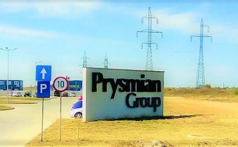 Prysmian Slatina Romania fiber optic plant in Europe