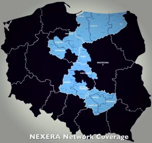 Nexera network coverage in Ploand