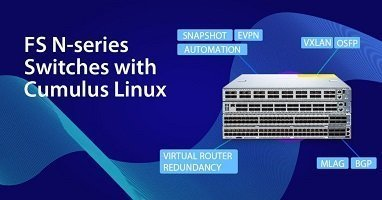 Transceiver Modules for FS N-series Switches with Cumulus Linux 3