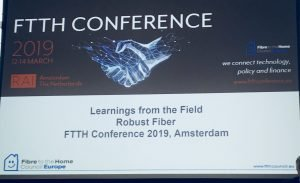 FTTH Council Europe Conference 2019 starts in Amsterdam on March 12