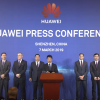 Huawei press conference to announce file suit against the US