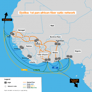 Orange Expands Pan-West African Network 1